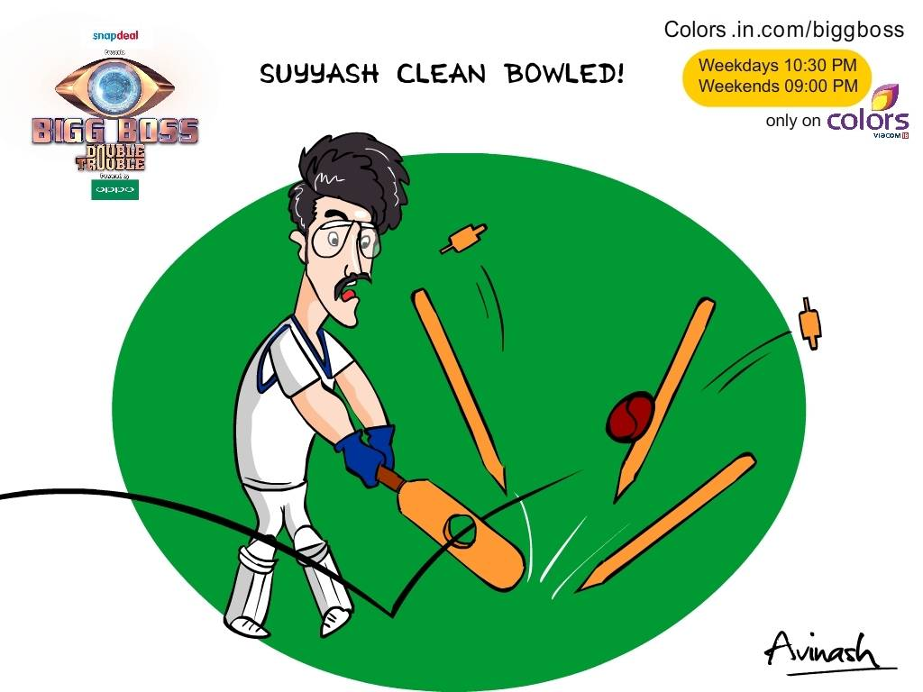 Exclusive: Suyyash Clean Bowled! - ColorsTv