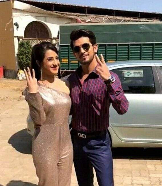 Ishq Mein Marjawan: These actors got clicked during their free time on the sets.