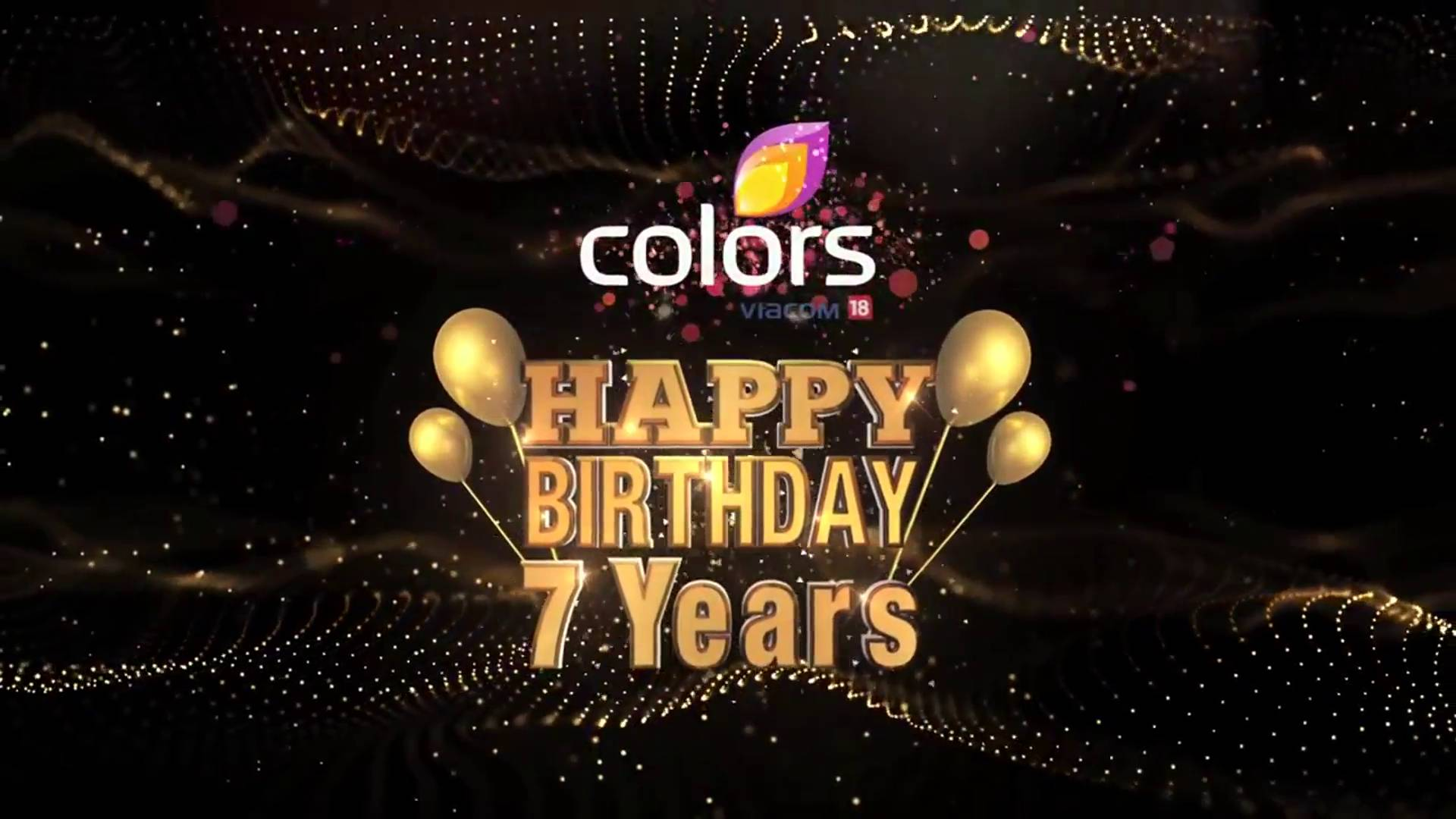 7 Years of Colors,Promo: 7 Saal non-stop entertainment