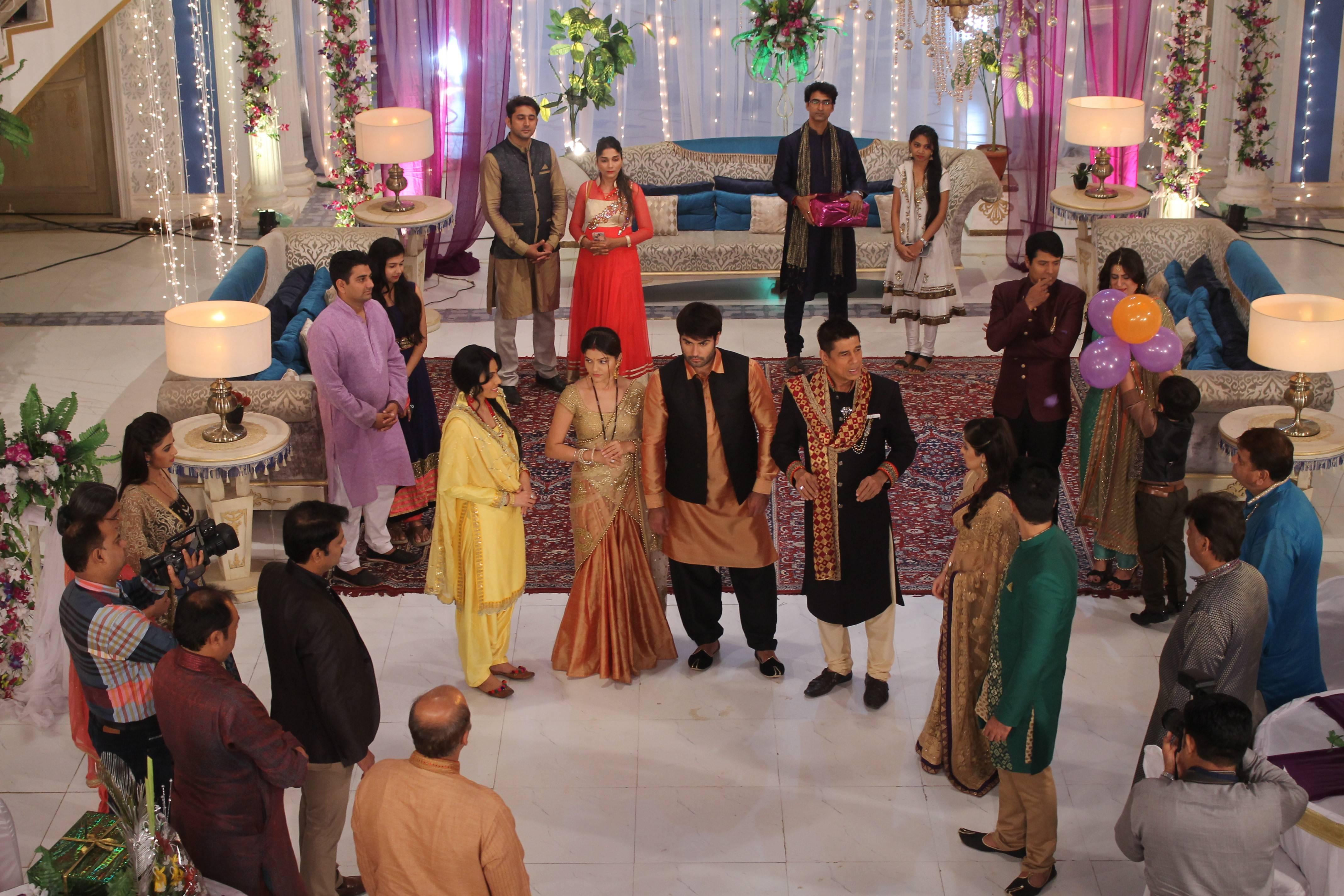 Harman & Saumya's first wedding anniversary celebration!