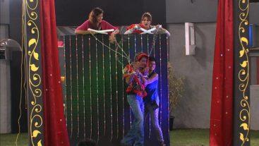 Aashka and Sana's love story enacted!