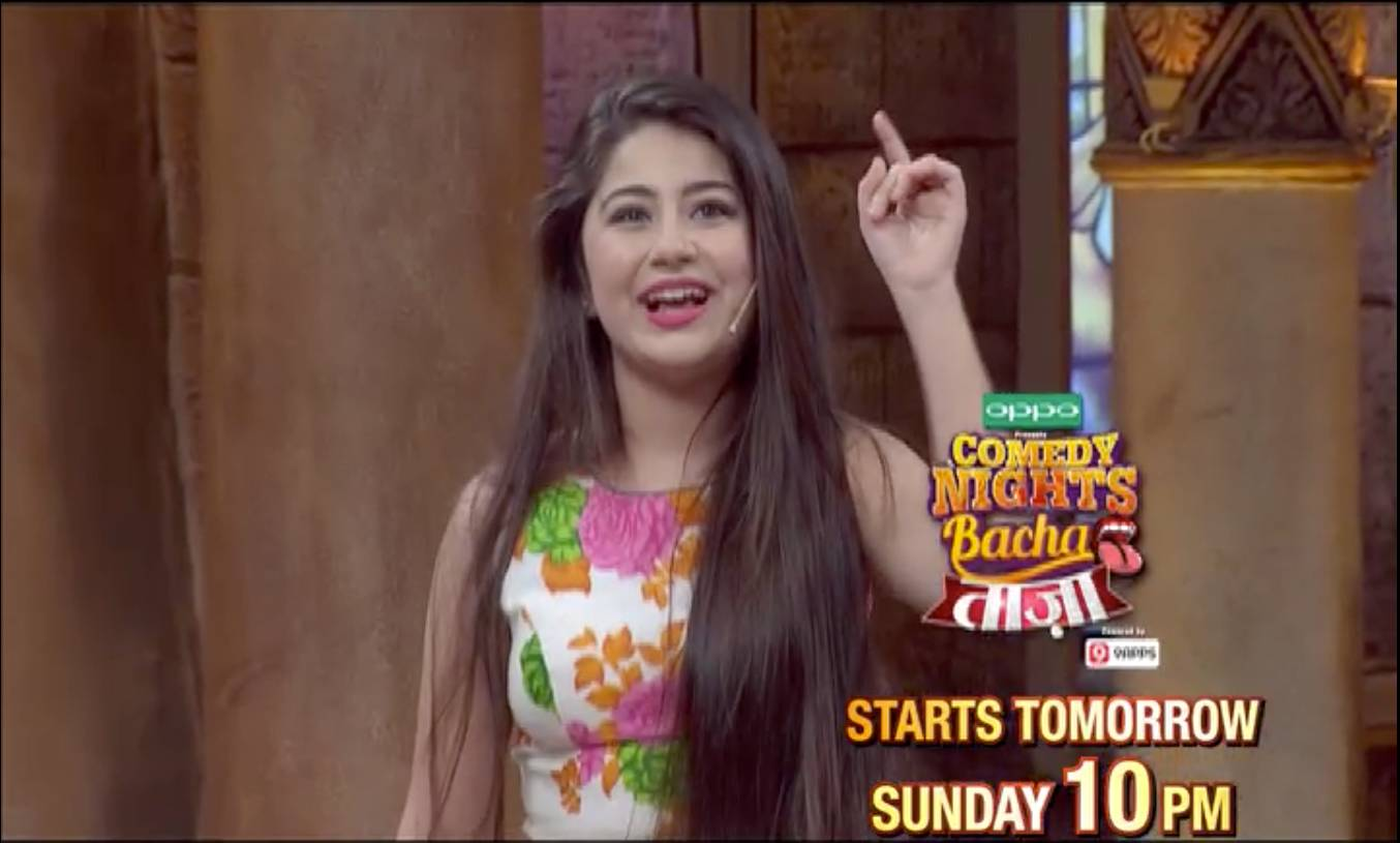 Aditi Bhatia to tickle your funny bone on CNB Taaza, Tonight 10PM