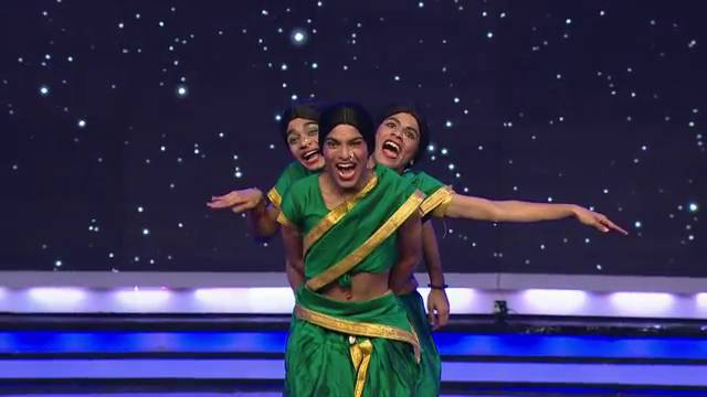 An entertaining act by Funny Boys: IGT5, Ep-8, #Seg-8