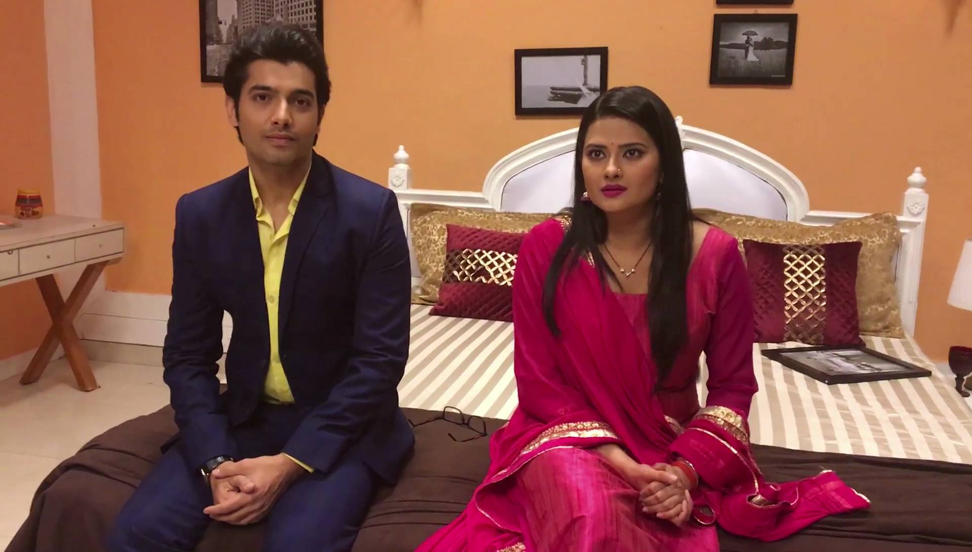 An exclusive interview with Sharad Malhotra and Kratika Sengar from 'Kasam'