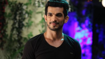 Arjun Bijlani as Arhaan, the Jinn, on Kawach!