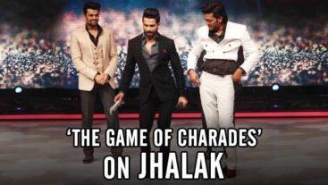 Bangistan stars play 'Game of Charades' on Jhalak
