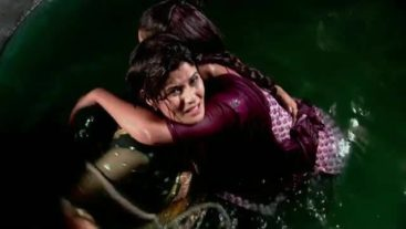 Bhoomi saves Bharti from ...