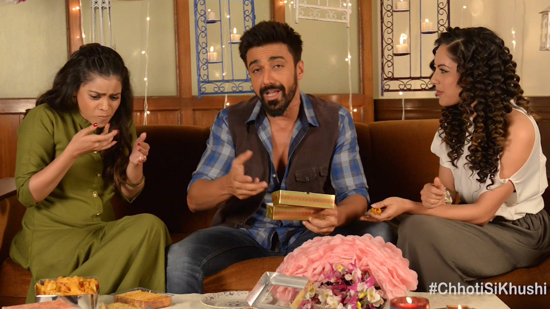 Cast of 'Dev' celebrated a joyful Diwali on the sets, do watch!