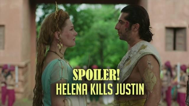 Chakravartin Ashoka Samrat, Spoiler: Shocking! Helena kills her son Justin!