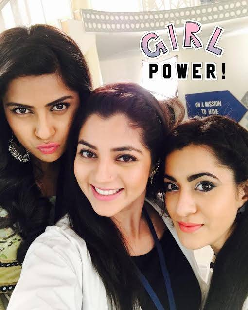 Swarda Thigale and her girls from Savitri Devi College & Hospital are real posers!