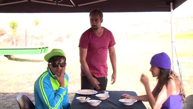 Contestants' masti time with crew #KKK