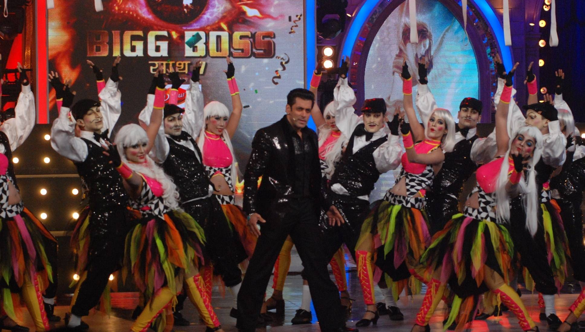 Dabangg finale with Salman! #Bigg Boss-Saath 7