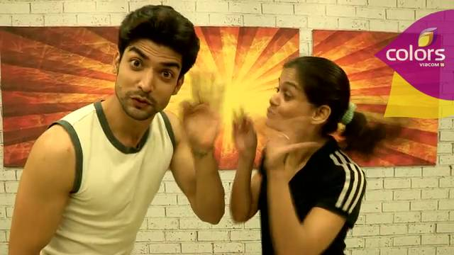 Dancing peacocks: Gurmeet and Shampa #Jhalak Dikhhla Jaa