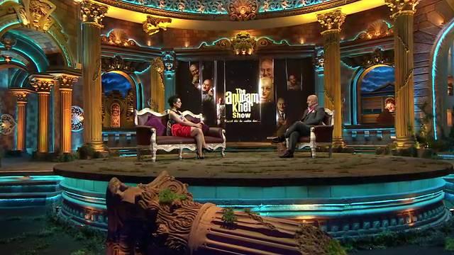 Deleted scenes: Kangana Ranaut ##TheAnupamKherShow