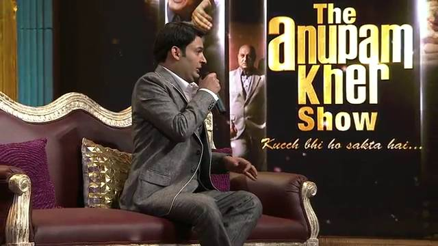 Deleted scenes: Kapil Sharma #Part 2 #TheAnupamKherShow