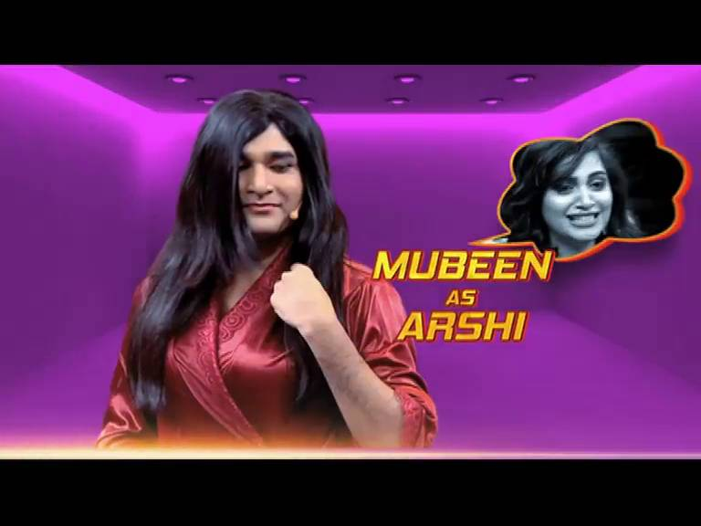 Entertainment Ki Raat: Mubeen Saudagar as Arshi Khan! Tune in tonight and catch all the action.