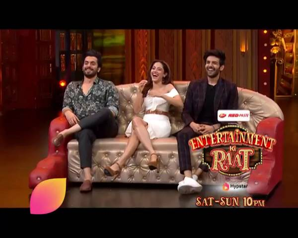 Entertainment Ki Raat: Watch the cast of 'Sonu Ke Titu Ki Sweety' having a ball of time this weekend.