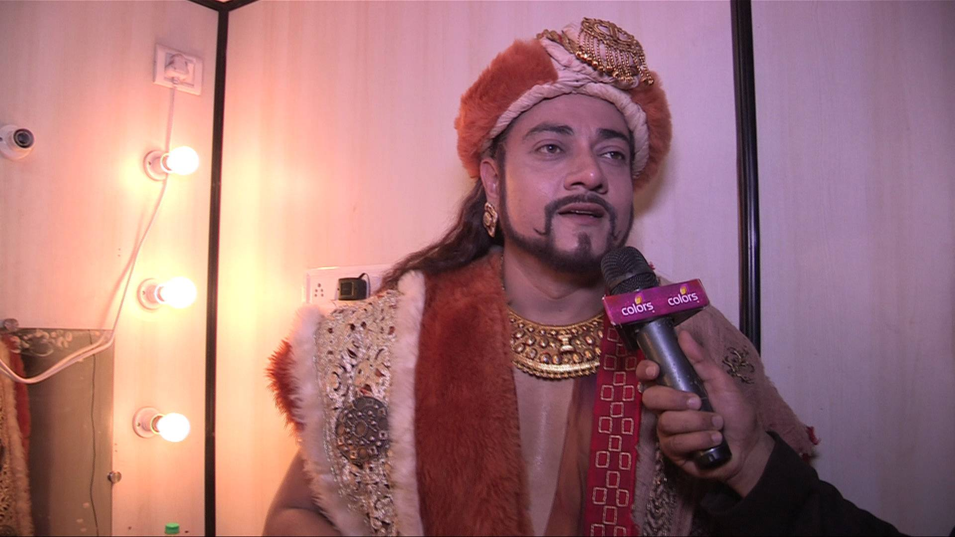 Exclusive: Watch Vikrant Transform Into MirKhurasin In Less Than 5 Mintues – Chakravartin Ashoka Samrat