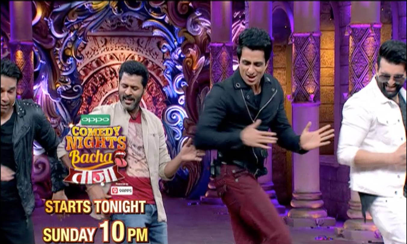 Fantastic Sonu Sood and super rocking Prabhu Deva on CNB Taaza, Tonight 10PM