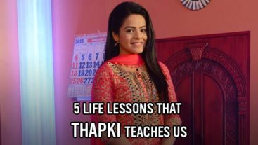 Five life lessons that Thapki teaches us