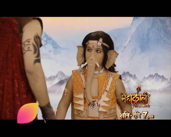 Ganesha & Kartikeya fight over who is 'shreshtha', do watch 'Mahakaali' this weekend!