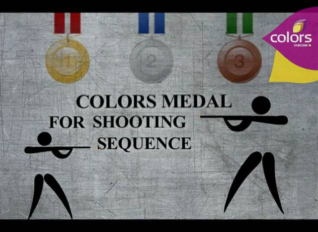 Gold at Colors Olympics Shooting event!