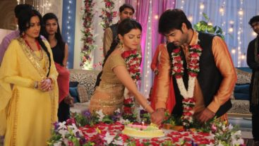 Harman & Saumya's first wedding anniversary celebration!