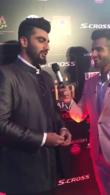 IIFA 2015 Highlights: Arjun talks about his baba Ranveer on IIFA Rocks