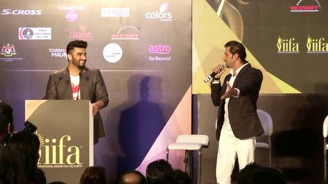 IIFA Press Conference: Part-1- Arjun Kapoor & Hrithik Roshan