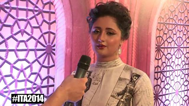 I'm excited about my performance: Rashmi Desai #ITA2014