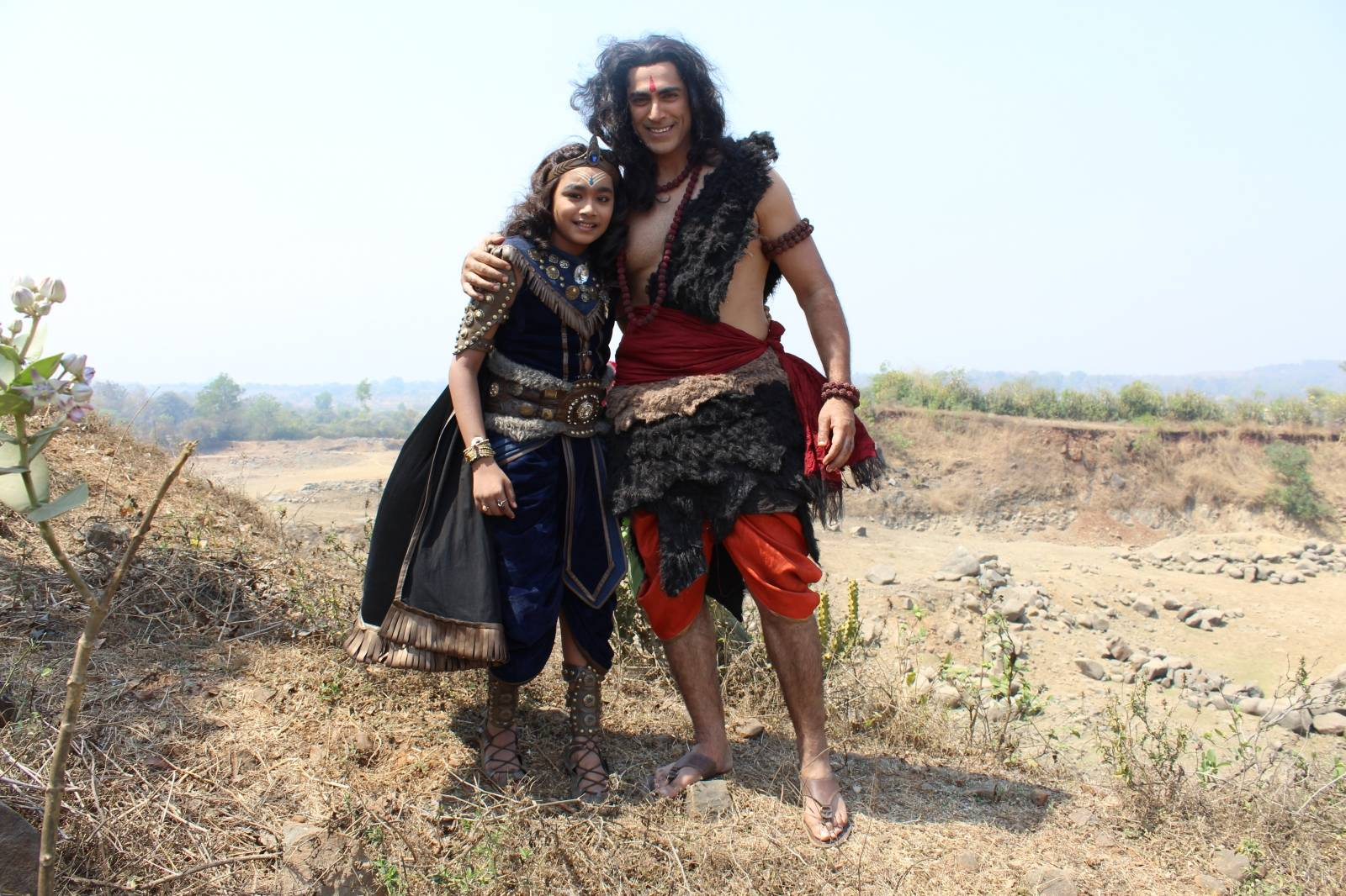 Exclusive Pictures From The Sets Of Shani
