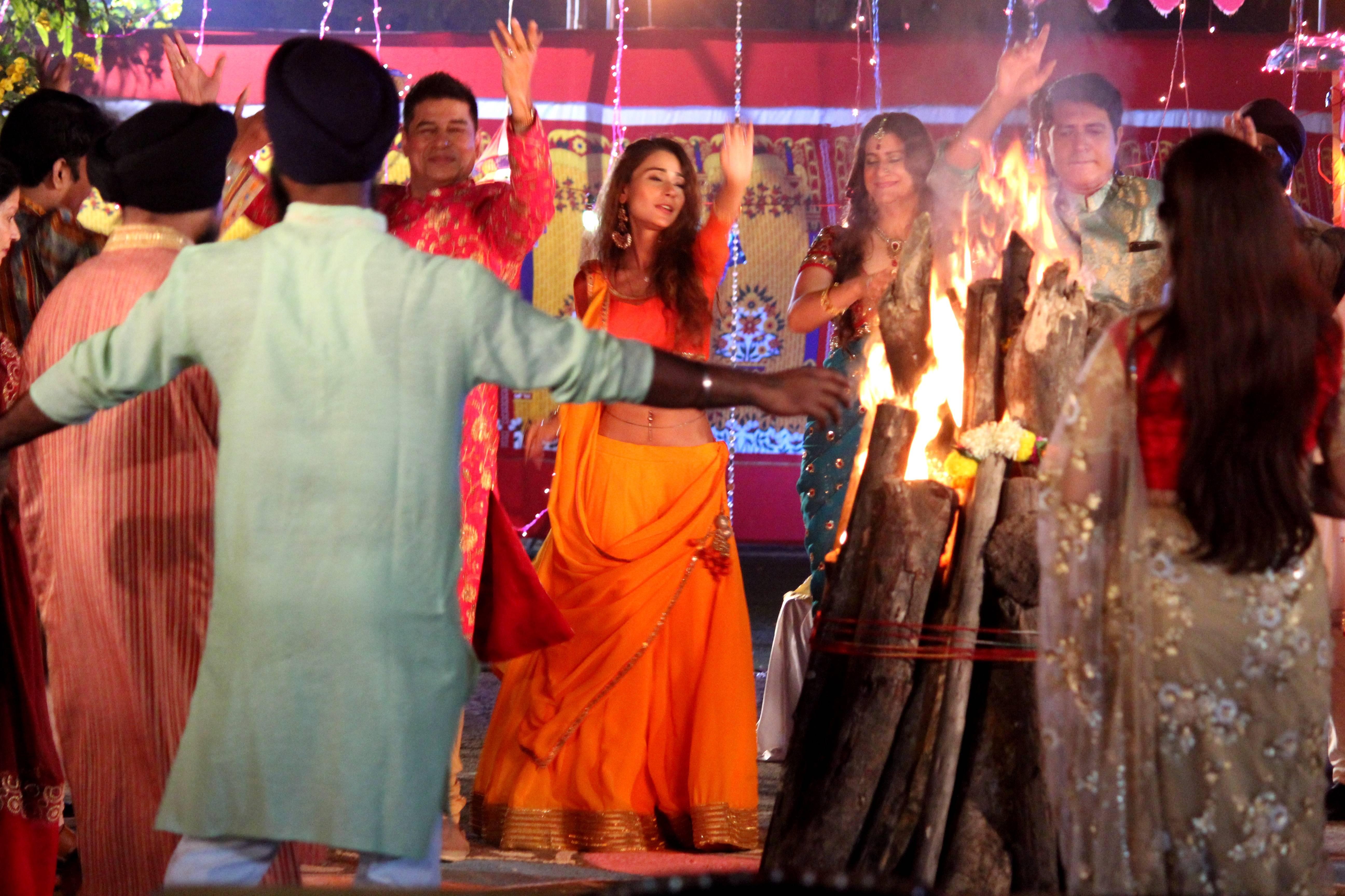 Shakti: Here's how Harman and Saumya celebrated Lohri & Makar Sankrati with their family!