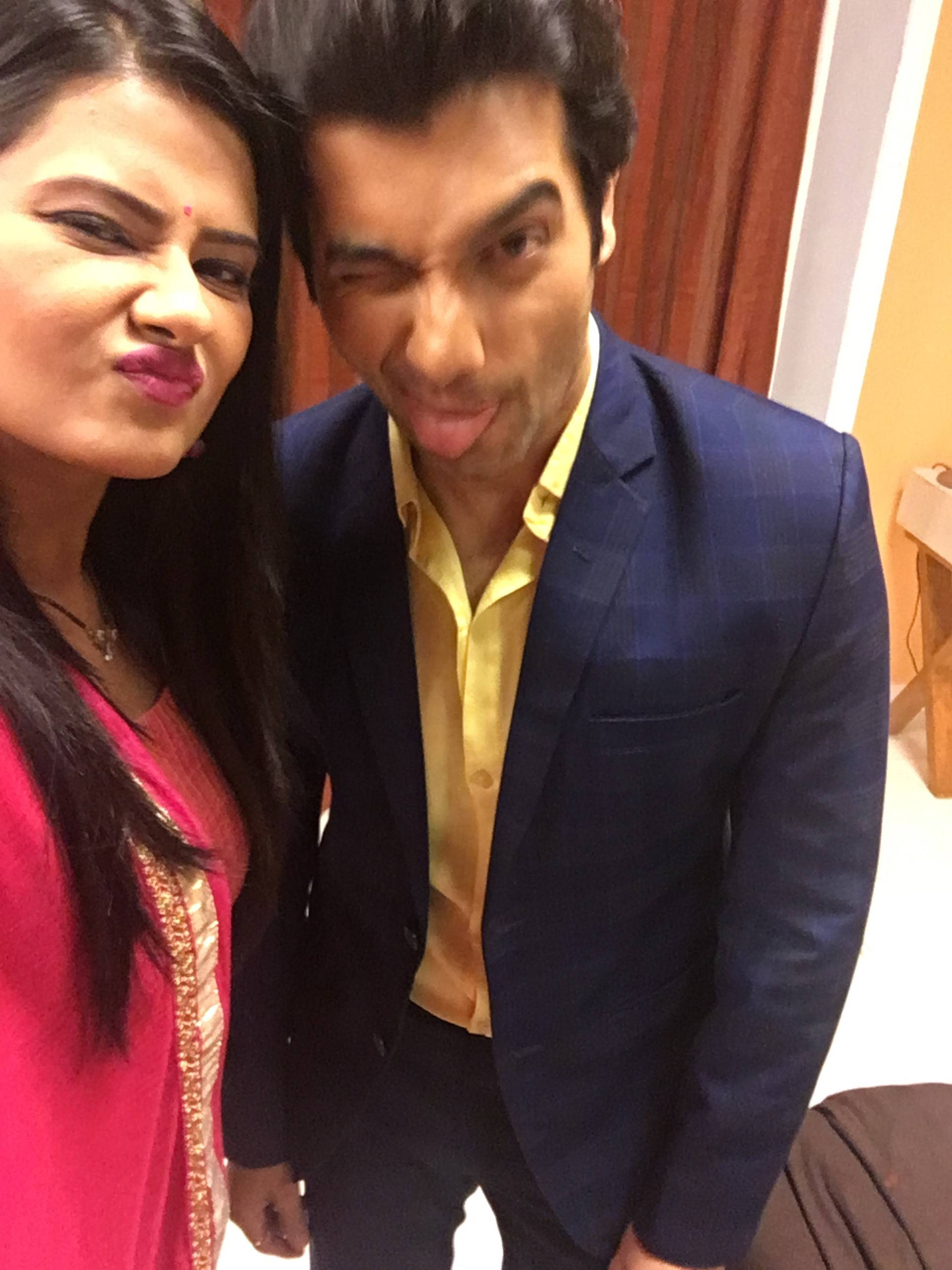 Sharad and Kratika from 'Kasam' pose for some adorable selfies