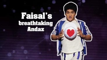 Jhalak Reloaded Exclusive : Faisal's Breathtaking 'Andaz'