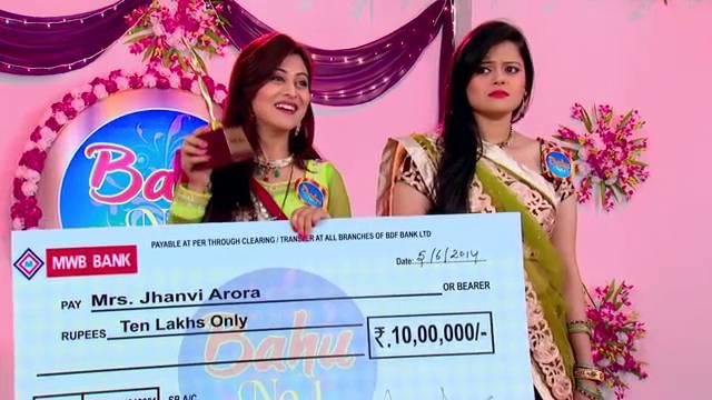 Jhanvi wins Bahu no 1: Ep-890, Sasural Simar Ka #Seg 7