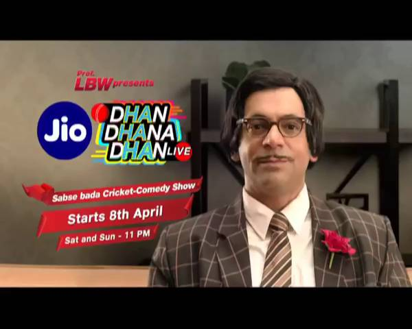 Jio Dhan Dhana Dhan LIVE: Starts 8th April, Sat-Sun at 11 PM.