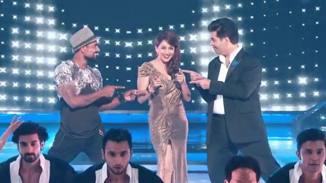 Judges burn the dance floor! #Jhalak