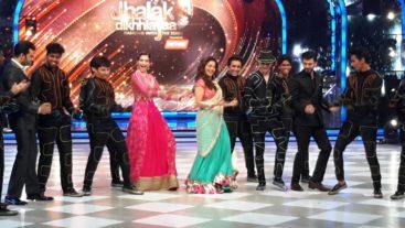 Khoobsurat Sonam shares a dance with Karan Tacker! #Jhalak