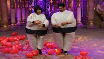 Krushna and Arjun's sumo costume dance will make you go aww!