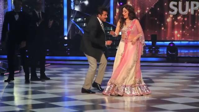 LEAKED: Anil Kapoor makes Madhuri do Ek Do Teen