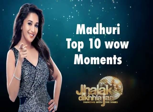 Madhuri top 10 WOW moments