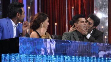 Manish kisses Karan on stage!