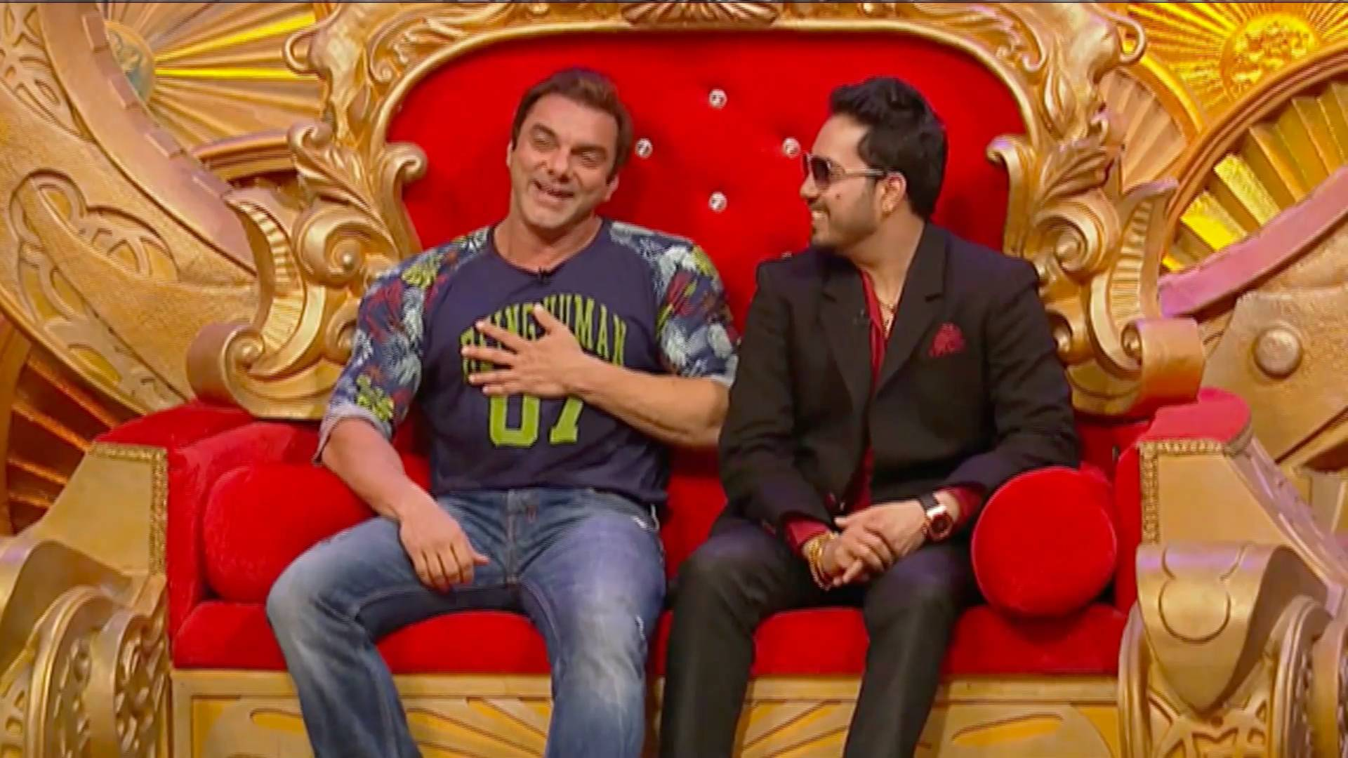 Mika Singh and Sohail Khan have a blast on CNB!