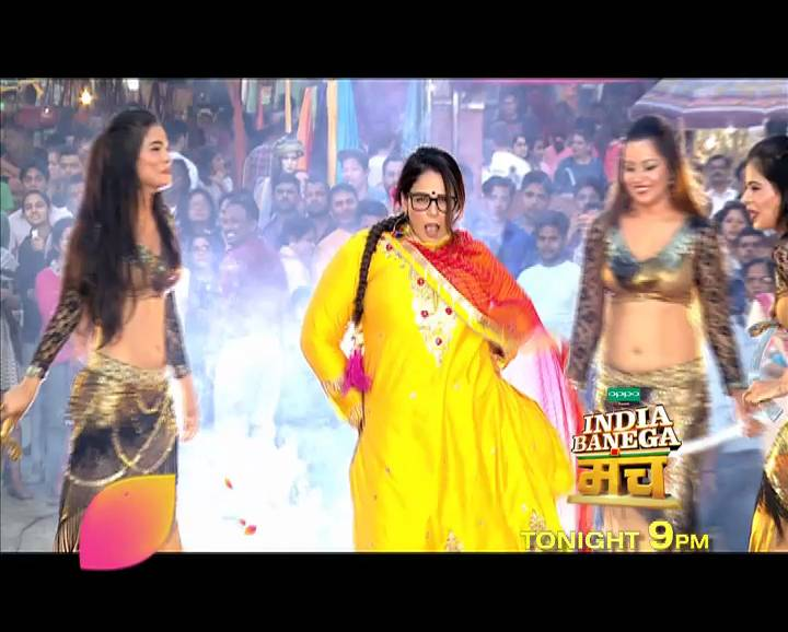 Mona Singh will be at her hilarious best on 'India Banega Manch' tonight at 9 PM!