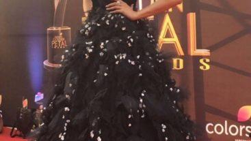 Mouni Roy Dazzled At The Dabur Glucose-D Presents 'Colors Golden Petal Awards'