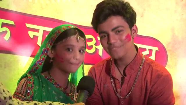 Nimboli and Kundan are full of life in REAL too! #Balika Vadhu