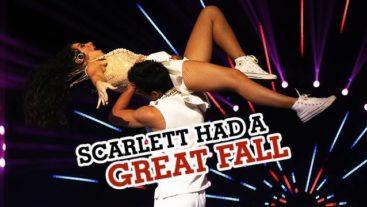 OMG! Scarlett and Dhiraj had a fall during their Jhalak Act!