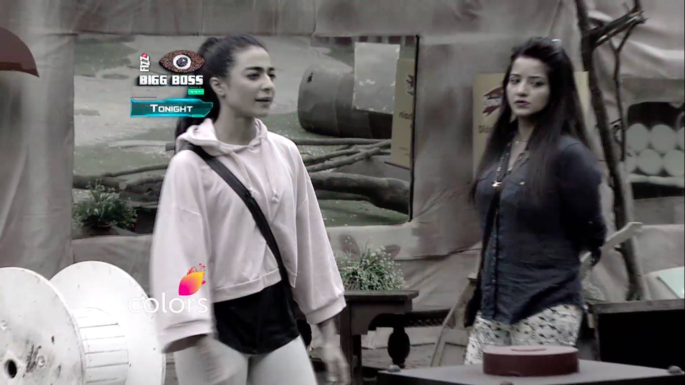 On Bigg Boss 10 Rohan, Monalisa & Bani Strategize How To Play The Task