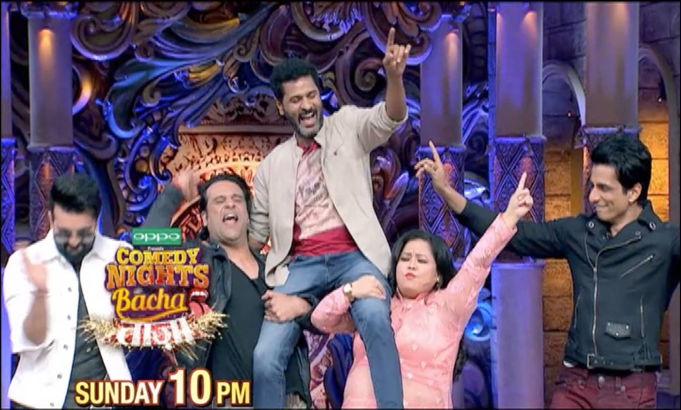 Prabhu Deva & Sonu Sood on CNBTaaza, this Sun-10PM