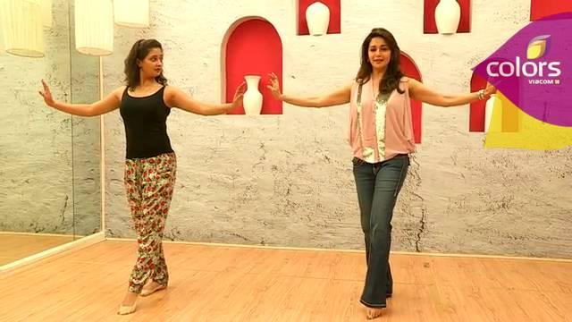 Rashmi's mentor Madhuri #Jhalak Dikhhla Jaa